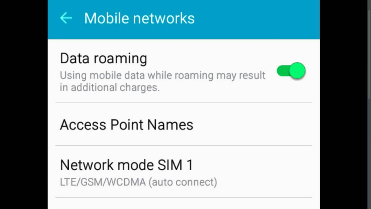 SAMSUNG Galaxy J7 Prime Reliance Jio 4G LTE Sim VoLTE APN Settings