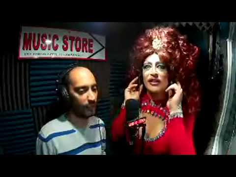Lady Gò Gò drag queen show su Music store web live