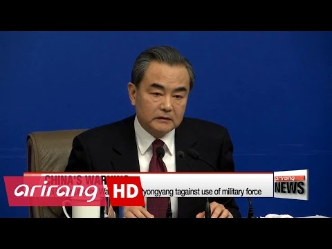 Wang Yi says military force cannot solve N. Korea issue