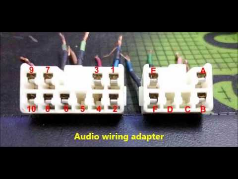 Perodua Viva 850 radio wiring - YouTube