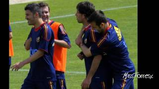 Funny and genial Spanish National Team