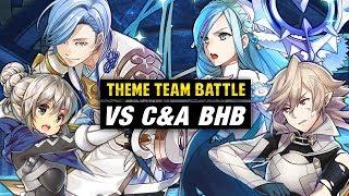 Corrin & Azura BHB Vs. Kana & Shigure - Fire Emblem Heroes Theme Team Battle