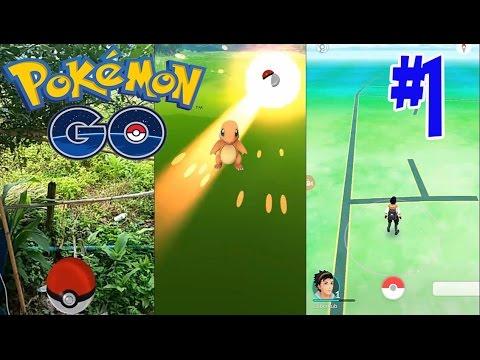 Pokemon Go #1 Gameplay ออกผจญภัย ตามจับโปเกม่อน
