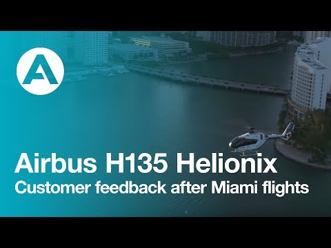 H135 Helionix: customer feedback after Miami flights