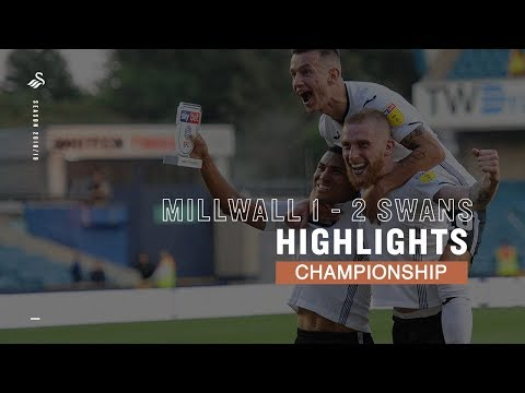 Highlights: Millwall 1 - 2 Swans