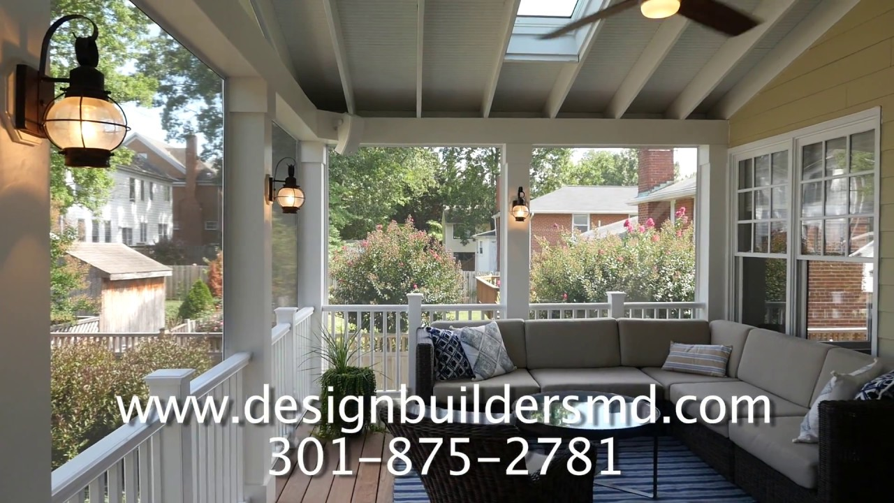 Screened Porch Amp Outdoor Kitchen With Danver Cabinets In