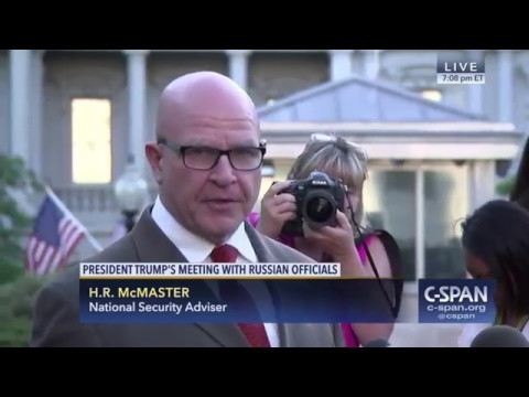 "National Security Adviser: ""The story that came out tonight, as reported, is false."" (C-SPAN)"