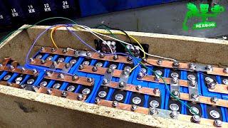 Супер мощная батарея своими руками + ИСПЫТАНИЯ!! видео