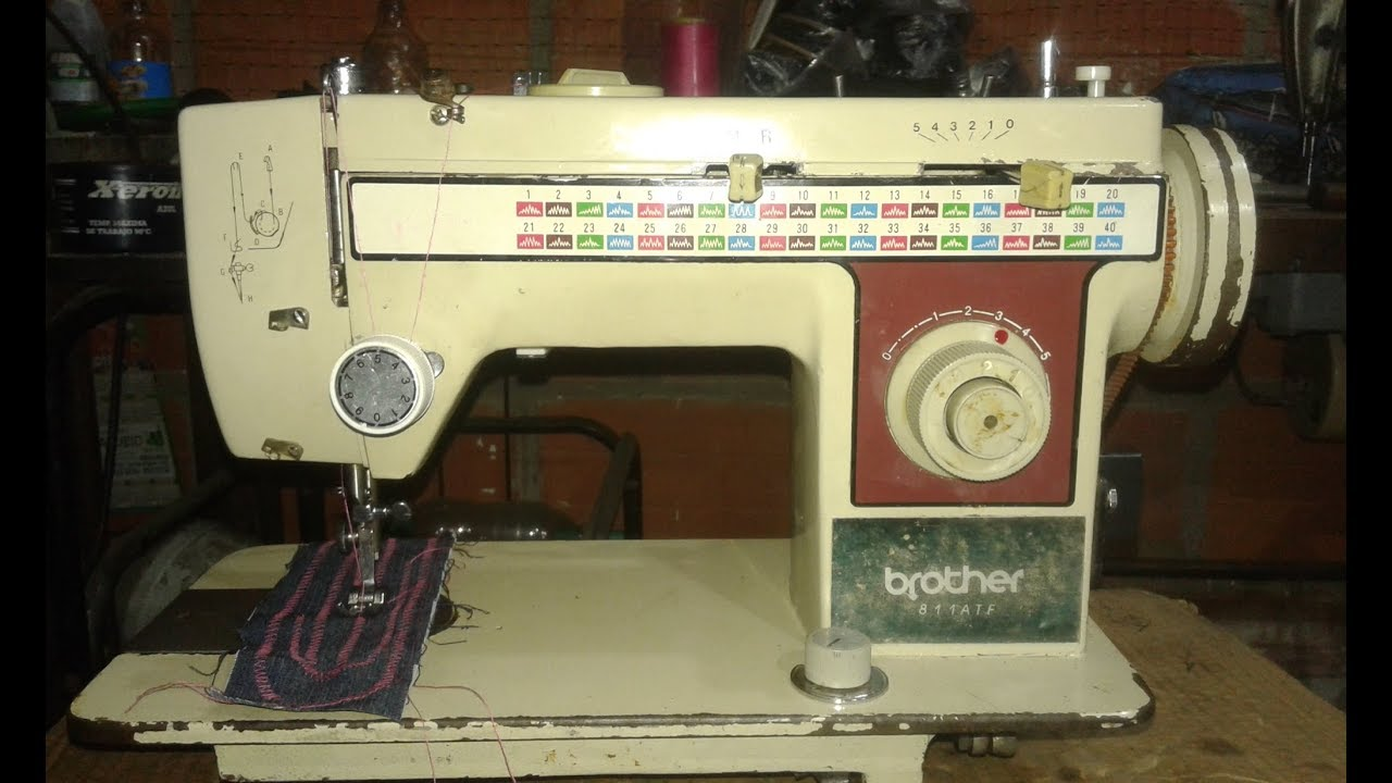 brother 811 ATF, como reparar maquina de coser sewing