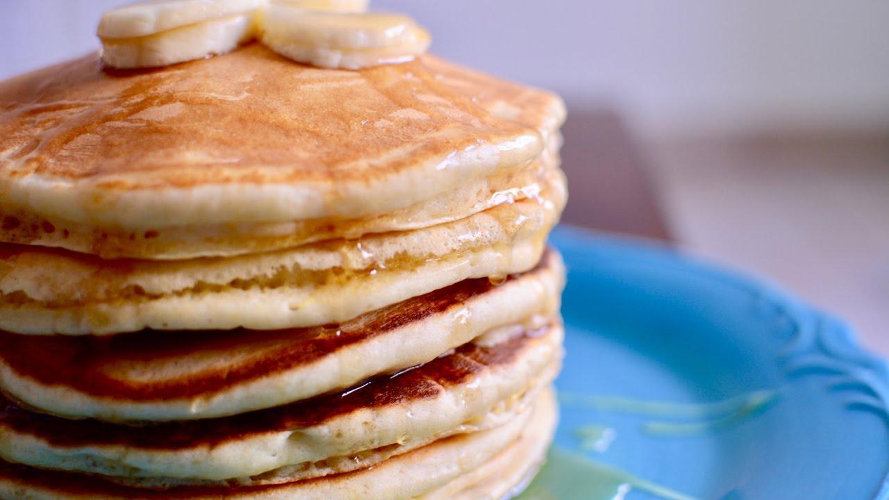 How to Make Fluffy Pancakes | Homemade Pancake Recipe ...