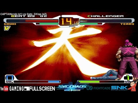 [Fightcade HD] - CAPTAINcrab (CH) vs. Gato_DXIqq (CHL) - SNK vs. Capcom: SvC Online Casuals - 동영상