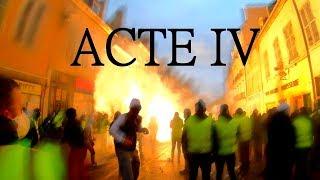 Acte IV - Manifestation Gilets Jaunes Dijon (4K)