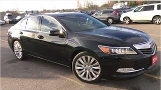 2014 Acura RLX Sedan w/Navigation and Technology Packages | WHITBY OSHAWA HONDA | Stock #: U3120