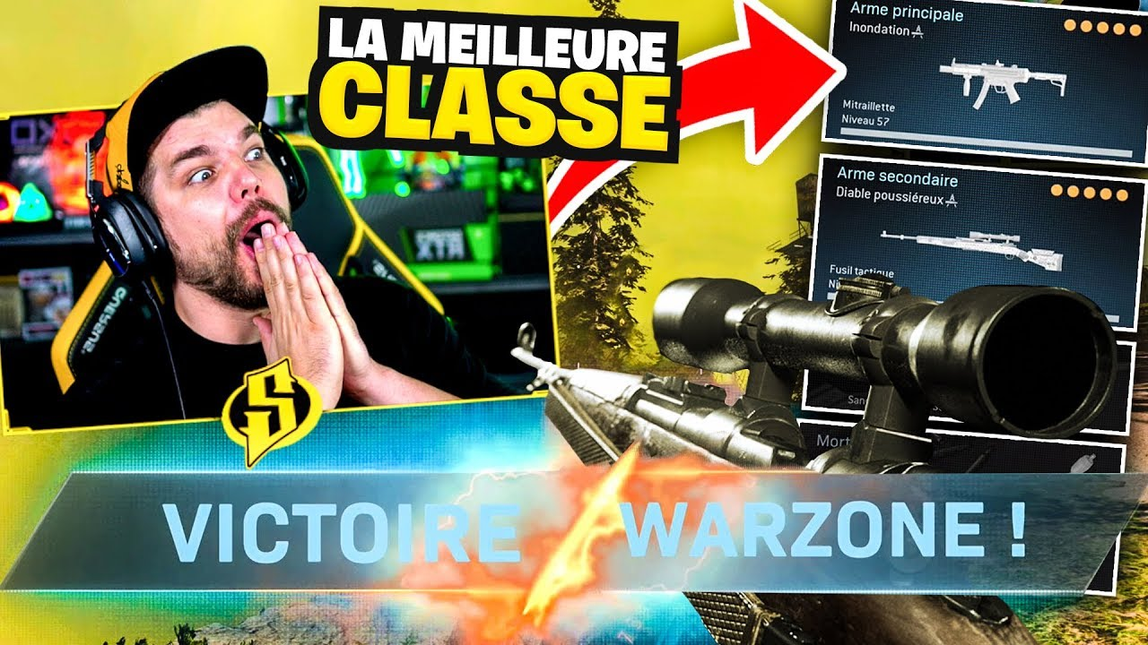 MEILLEURE CLASSE POUR TOP1 sur WARZONE !! (le Battle Royale de Call of Duty Modern Warfare)