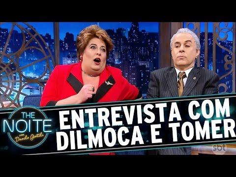 The Noite (17/11/16) - Entrevista com Presidente Tomer e Dilmoca Rousseff