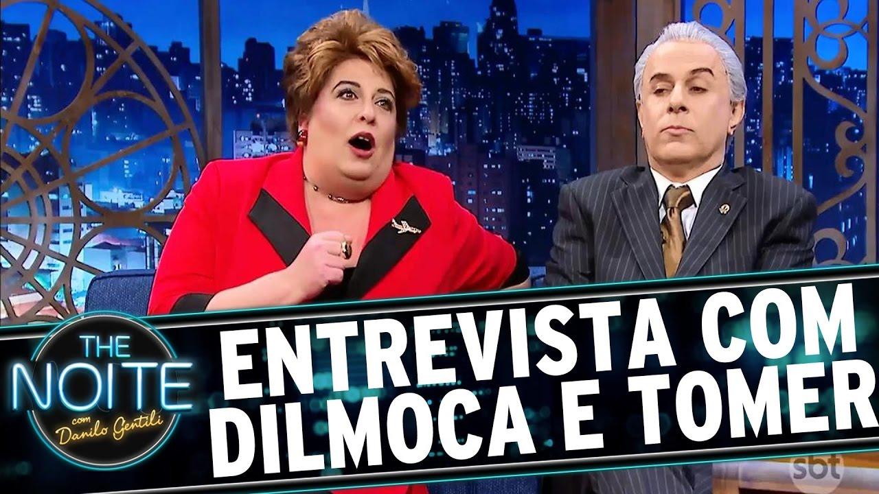 Entrevista com Presidente Tomer e Dilmoca Rousseff
