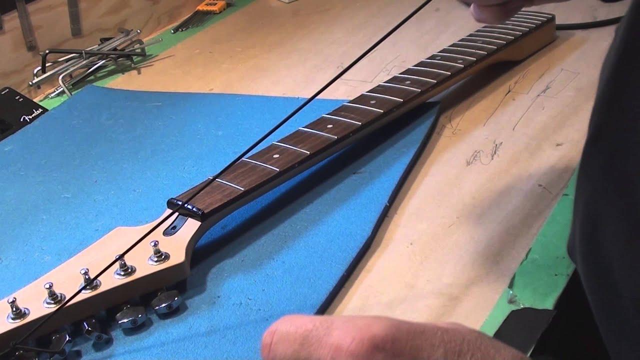 Understanding Guitar Neck Relief - YouTube