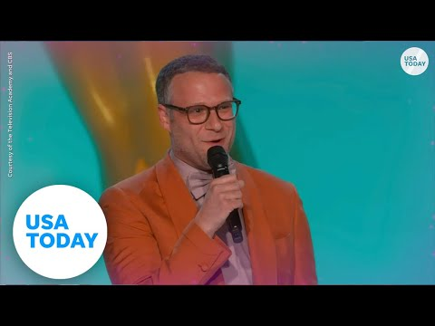 The buzziest 2021 Emmy moments from Jason Sudeikis, Jean Smart, Seth Rogen   USA TODAY