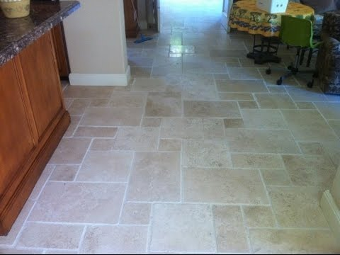 Cleaning Travertine Floor Palm Harbor Florida Clearwater Florida