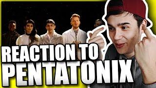 Can't Help Falling in Love – Pentatonix | REACTION