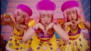 "The 2001 Hello! Project Shuffle Unit ""3nin Matsuri"" with their song..."