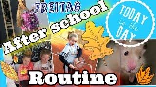 Freitag💜AFTER SCHOOL/ABENDROUTINE🍁im Herbst🌰coole Mädchen Zöpfe&Frisuren