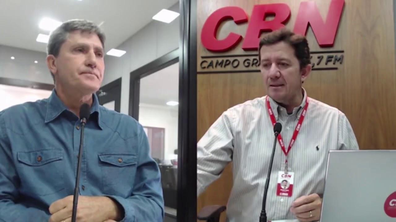 Entrevista CBN Campo Grande: Rudi Fiorese - Sisep