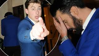 Drunk and sweaty Rylan Clark-Neal ...TV Choice Awards after-party looking worse for wear