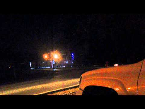 Dancing Christmas Lights in Long Beach, Mississippi