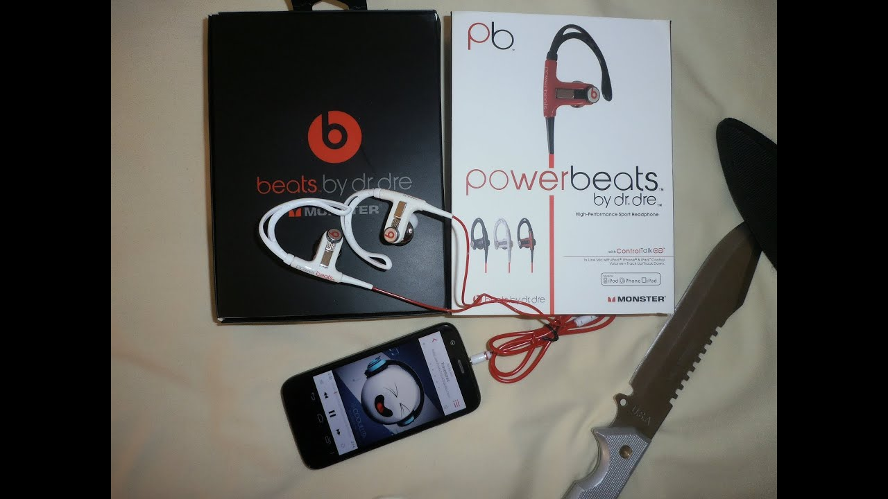 fae13a814d6 69] Unboxing AliExpress Fone Power Beats by Dr. Dre - YouTube