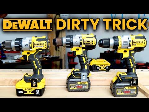 DeWALT Tools DIRTY Marketing Tactics (FLEXVOLT Advantage AND Power Detect Hammer Drills)