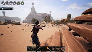 Conan Exiles eps  11 Multiplayer How To Trap and Kill A Dragon