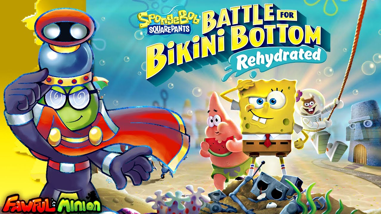 Spongebob: Battle for Bikini Bottom Rehydrated - Fawful's Minion