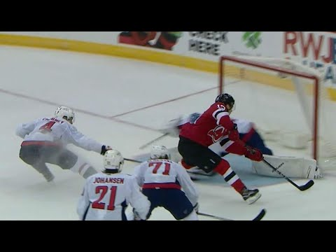 Number-one pick Hischier strips Capitals for first goal of pre-season