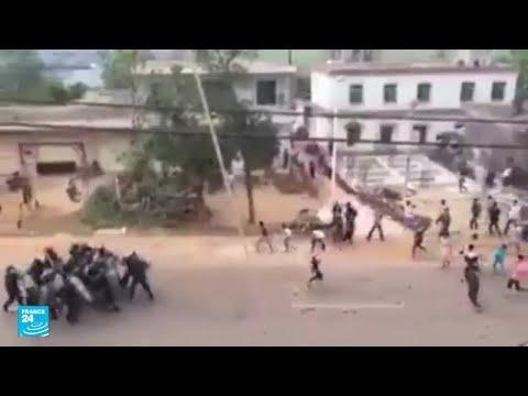 مظاهرات في إقليم الأحواز الإيراني بسبب العطش وشح المياه  - 13:57-2021 / 7 / 22