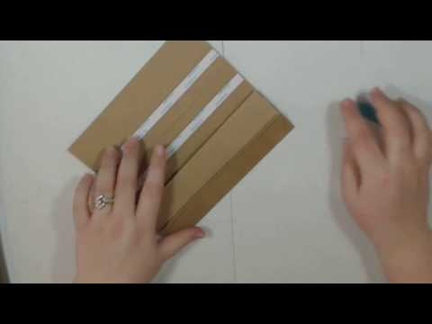 General Binding and Mini Album Cover Tutorial