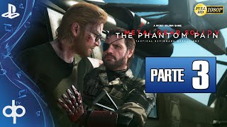Metal Gear Solid 5 The Phantom Pain Parte 3 Gameplay Español 1080p 60fps | Episodio 2 Mother Base