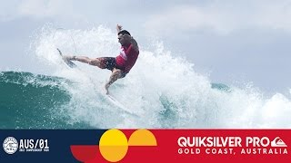 Joel Parkinson's 9.23 is High Score of the Day - Quiksilver Pro Gold Coat 2017 Round One