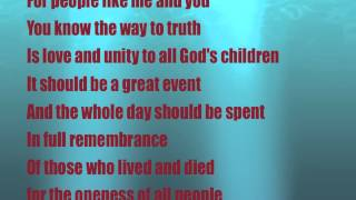 Happy Birthday Steve Wonder Lyrics