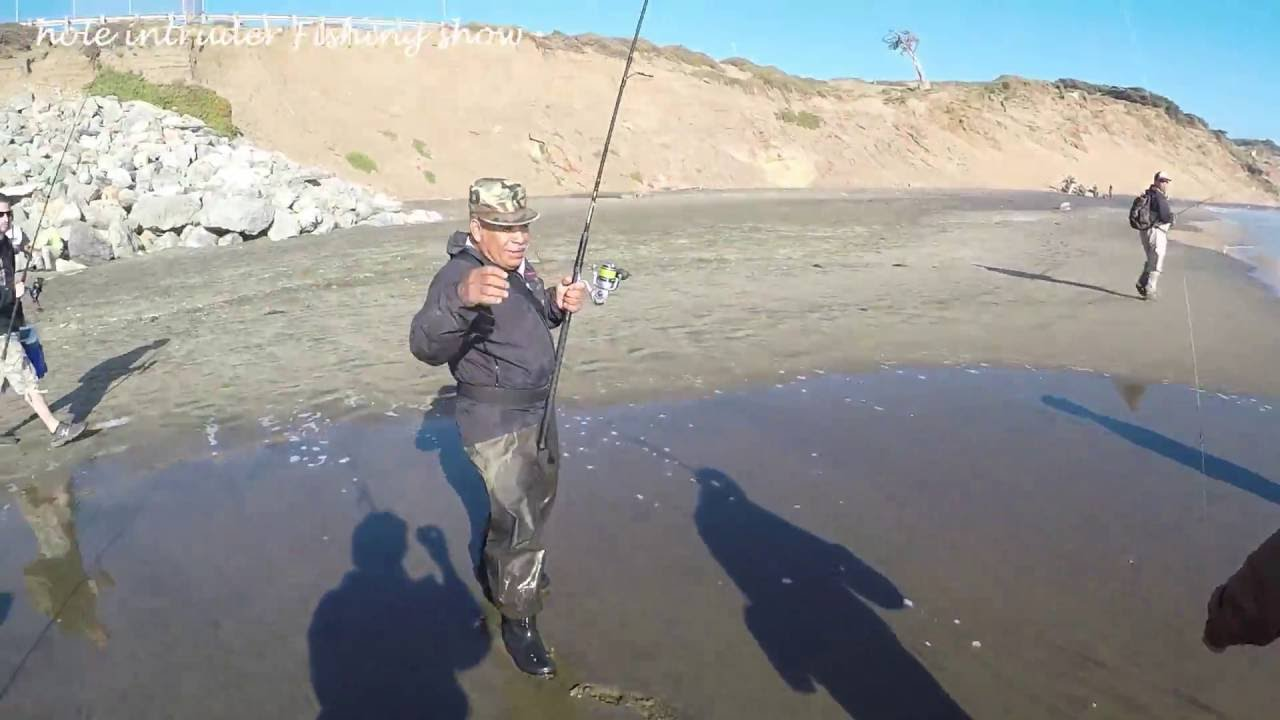 Striper Fishing On Ocean Beach