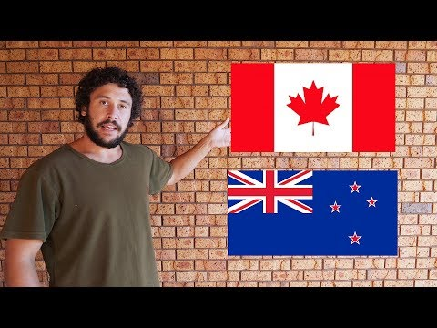 THE DIFFERENCE BETWEEN CANADA AND NEW ZEALAND