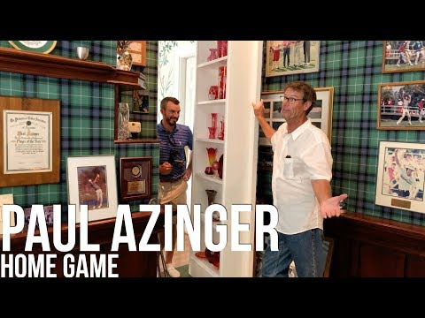Home Game: Paul Azinger's Ryder Cup Room and Fishing Spot