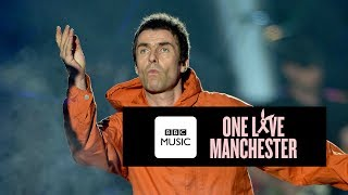 Liam Gallagher and Coldplay - Live Forever (One Love Manchester)