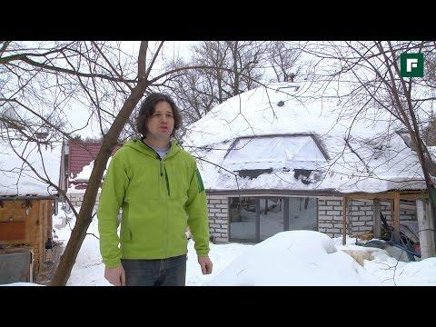 видео: Четвертьхаус. Конструктив уникального дома // forumhouse