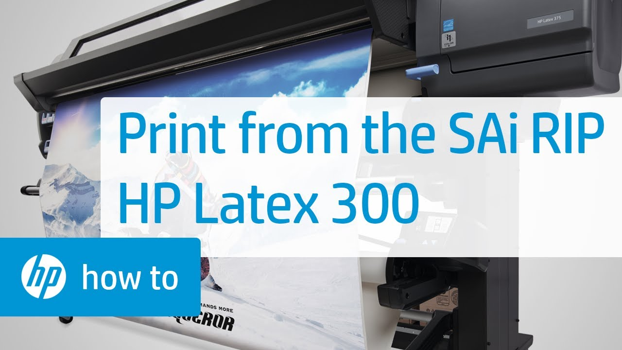 FlexiPRINT HP Latex | Design & Print Software| SAi | SAi