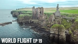 EXPLORING SCOTTISH CASTLE RUINS! - World Flight Episode 19
