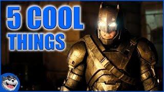 Batman V Superman Trailer #2 - 5 COOL Things