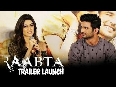 Kriti Sanon Interview | About Sushant Singh Rajput | Raabta | Chemistry | Raabta |Trailer Launch |HD