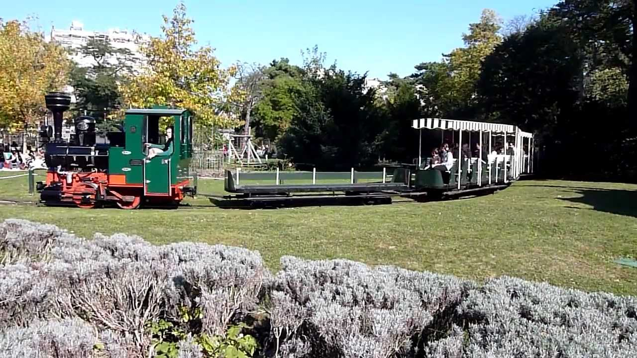 Le petit train du jardin d 39 acclimatation youtube for Jardin d acclimatation