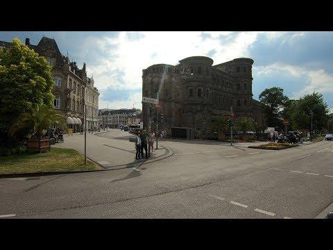 Walking in Trier ⛅ | Germany - 4K60
